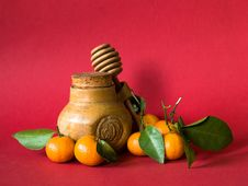Free Honey And Tangerines Stock Photos - 3927693