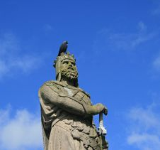Free Robert The Bruce Stirling Cast Stock Image - 3928731