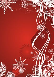 Free Vector Christmas Background Stock Images - 3929084