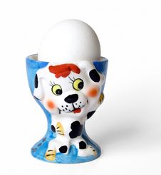 Eggcup Royalty Free Stock Photography