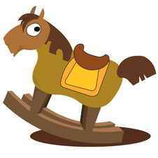 Free Wooden Horse Royalty Free Stock Images - 3929689