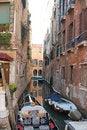 Free Gondolas In Venice Royalty Free Stock Photo - 3930595