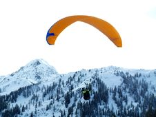 Free Paraglide Royalty Free Stock Image - 3930126