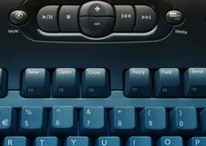 Free Media Keyboard Stock Photo - 3931470