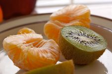 Free Kiwi And Clementine Tangerines Stock Images - 3931714
