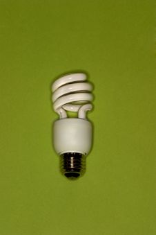 Compact Fluorescent Bulb Stock Photography