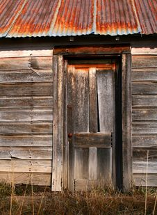 Free Old Barn Door Stock Photos - 3932673