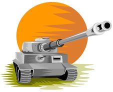 Free Battle Tank Royalty Free Stock Photo - 3933155