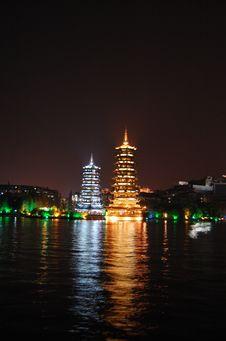 Free Chinese Pagoda S Royalty Free Stock Photo - 3934045