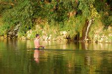Free Fisherman Stock Image - 3934081