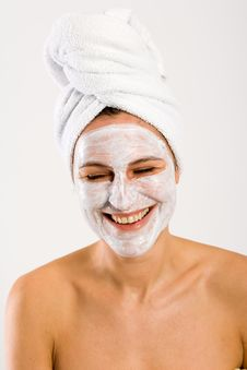 Free Smiling Bodycare Stock Photos - 3934123