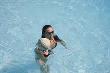 Pool Sport Royalty Free Stock Photo