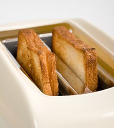 Free Toasts In Toaster Stock Photos - 3936653