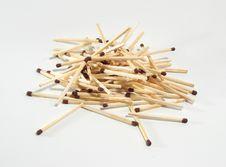Heap Of Matches Stock Photos