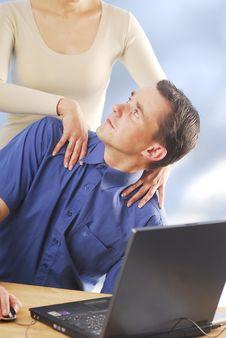 Free A Massage Stock Photography - 3937472