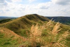Free Ramparts Mam Tor Royalty Free Stock Photos - 3937728