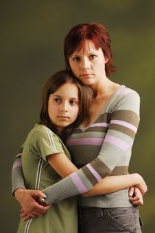 Free A Mother With Her Daughter Royalty Free Stock Photo - 3938145