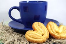 Free Cup Of Tea And  Cookies Royalty Free Stock Photo - 3938335