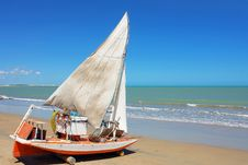 Free Traditional Sailing Boat Royalty Free Stock Images - 3938429