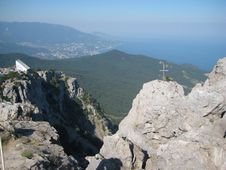 Free View From Aypetri Mountain Stock Images - 3939944