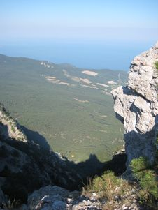 Free View From Aypetri Mountain Stock Image - 3939961