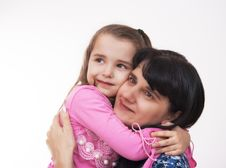 Free Mama And Her Little Daughter Royalty Free Stock Image - 39356296