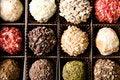 Free Box Of Different Luxury Handmade Chocolates Royalty Free Stock Photos - 3946408