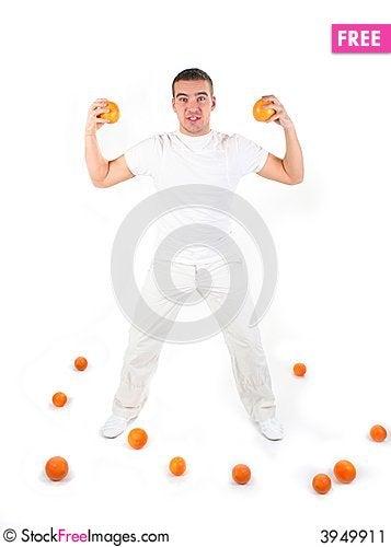 Free Athletic Guy Stock Image - 3949911