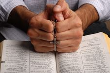 Free Bible And Cross Stock Photos - 3940163