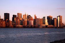 Free Lower Manhattan Skyline Stock Photos - 3940713