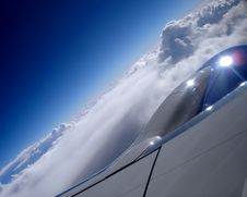 Free Soaring Above Clouds Royalty Free Stock Image - 3941606