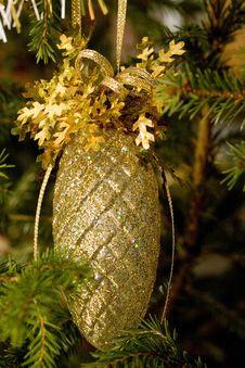 New-Year Tree Decoration Stock Photo