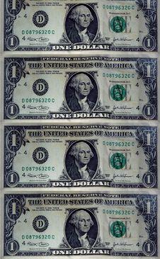 Free Dollars Stock Photography - 3942152
