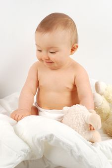 Free Baby After Bath 34 Stock Image - 3942421