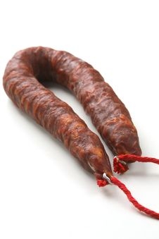 Spanish Chorizo Stock Image