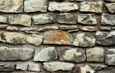 Free Stone Wall Royalty Free Stock Photography - 3942787