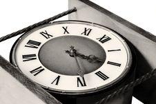 Free Old Clock Close Up Royalty Free Stock Image - 3943316