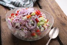 Free Onion Salad Royalty Free Stock Image - 3943696