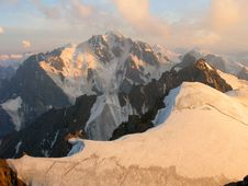 Peaks Of North Tien Shan Royalty Free Stock Photography