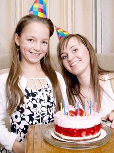 Free Birthday Party Royalty Free Stock Photo - 3944535