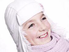 Closeup Of Girl Royalty Free Stock Image