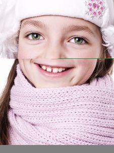 Closeup Of Girl Royalty Free Stock Photo