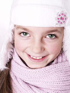 Closeup Of Girl Royalty Free Stock Photography