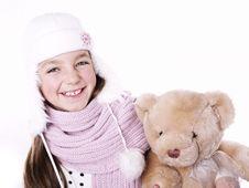 Closeup Of Girl Royalty Free Stock Photos