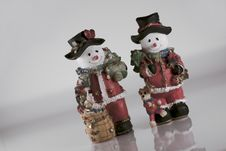 Free Snowman Royalty Free Stock Image - 3945026