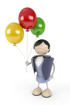 Free Balloons Stock Photo - 3946030