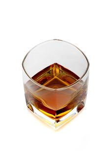 Free Glass Of Whiskey And Light Royalty Free Stock Images - 3947259