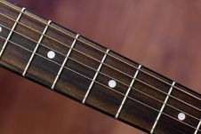 Guitar Neck Royalty Free Stock Photos