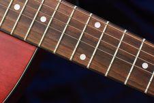 Free Guitar Neck & Body Royalty Free Stock Photos - 3947358