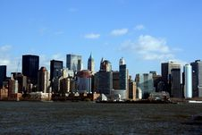 Free Lower Manhattan Skyline Stock Images - 3948094